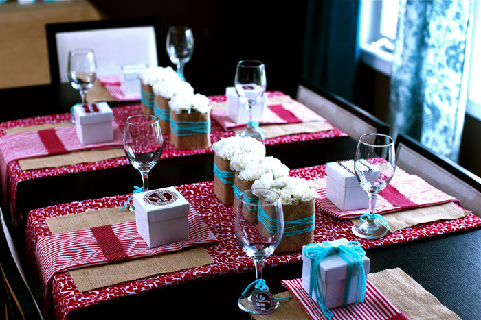 Decorating Ideas For Baby Shower Gift Table  Sweet Baby Shower Guest Dessert Feature