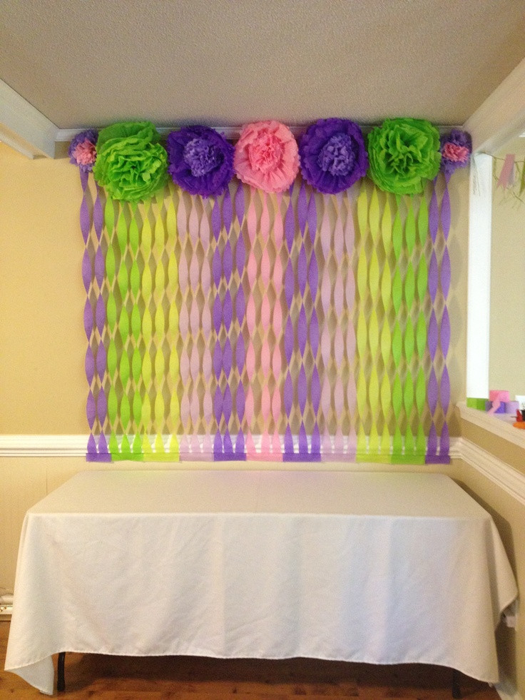 Decorating Ideas For Baby Shower Gift Table  Baby shower decorations Gift table