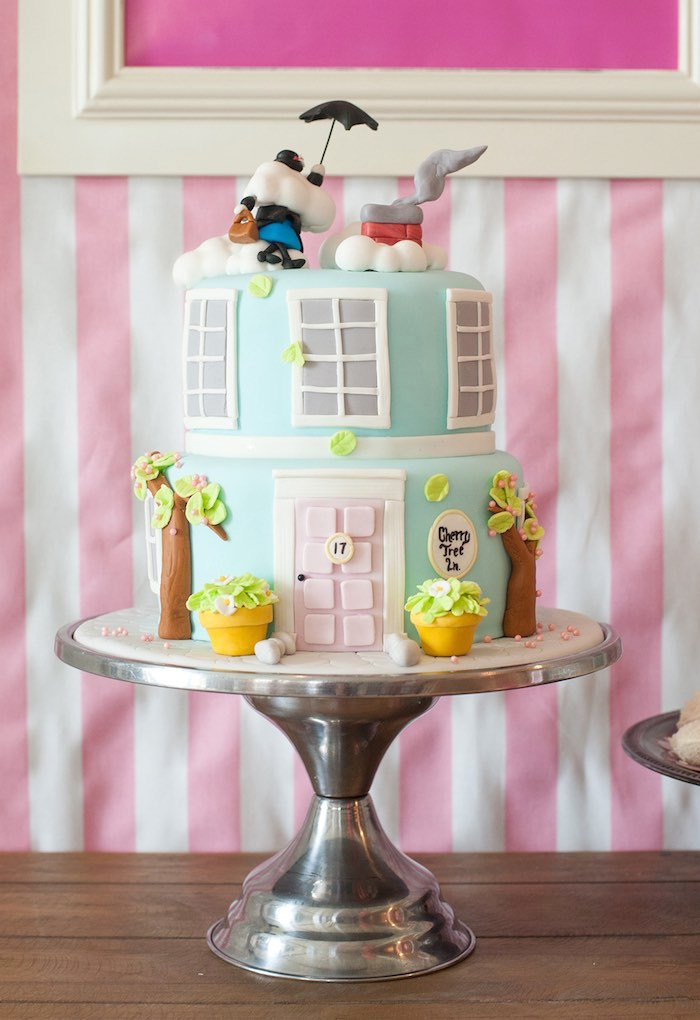 Decorations For A Birthday Party  Kara s Party Ideas Mary Poppins Birthday Party