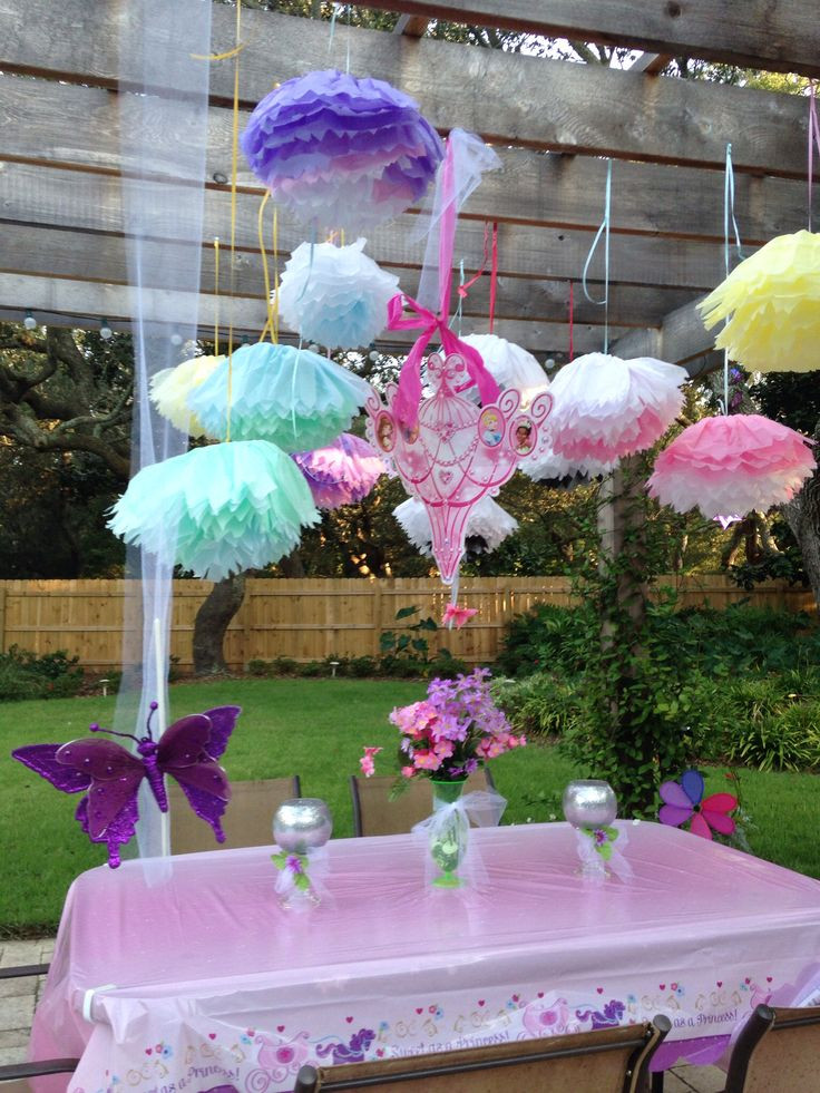 Decorations For A Birthday Party  Fun Outdoor Birthday Party Décor Ideas