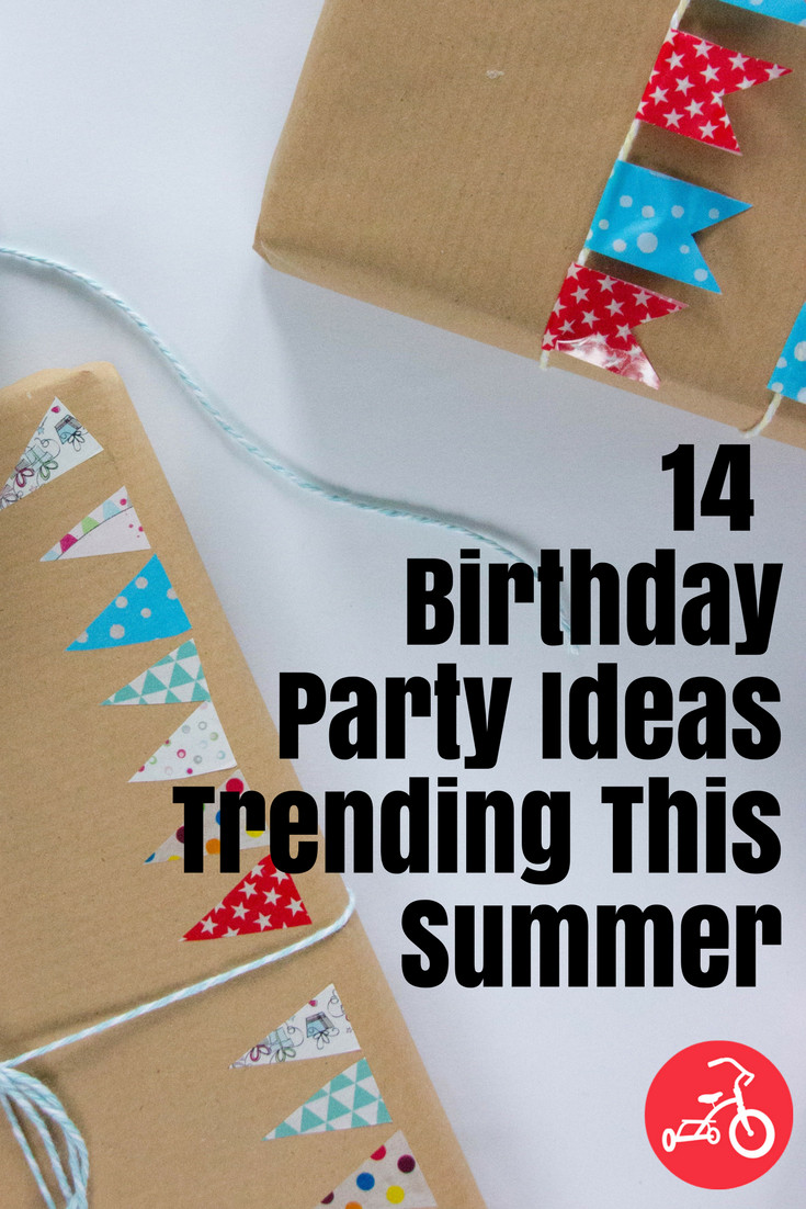 Decorations For A Birthday Party  Ideas and Themes for Summer Birthday Parties