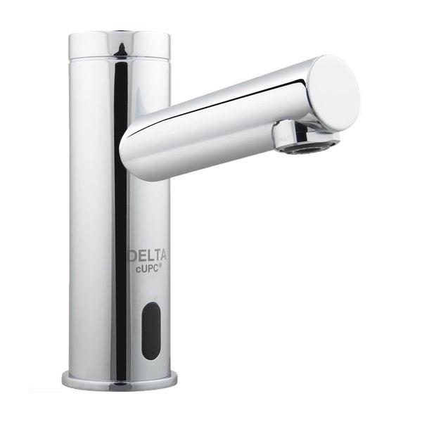 Delta Bathroom Sink Faucet  Shop Delta Chrome Electronic Bathroom Sink Faucet Free
