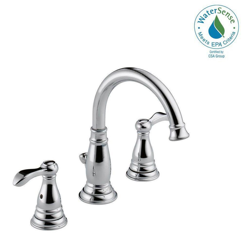 Delta Bathroom Sink Faucet  Delta Porter 8 in Widespread 2 Handle Bathroom Faucet in