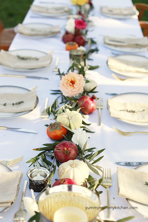 Dinner Party Table Ideas  Fall Dinner Party Menu Yummy Mummy Kitchen
