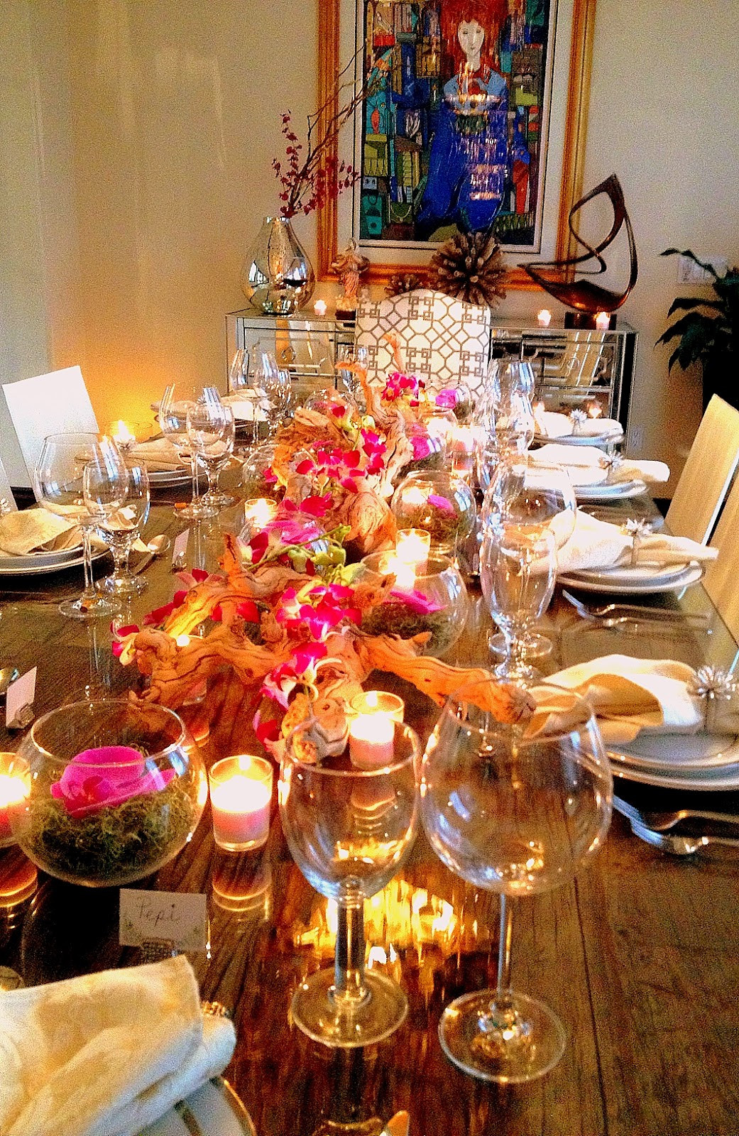 Dinner Party Table Ideas  The Cuban In My Coffee Chic And Easy Dinner Party Decor