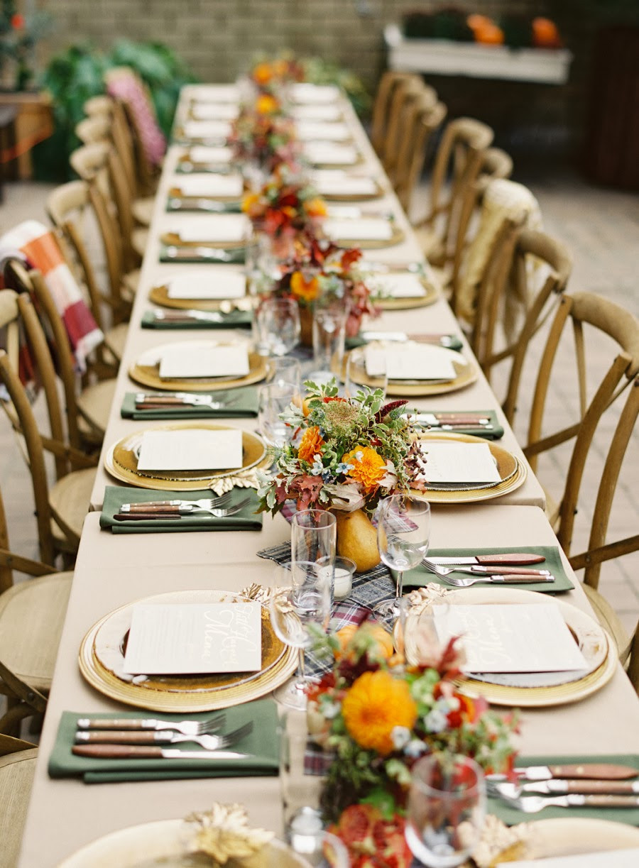 Dinner Party Table Ideas  HAPPY THANKSGIVING