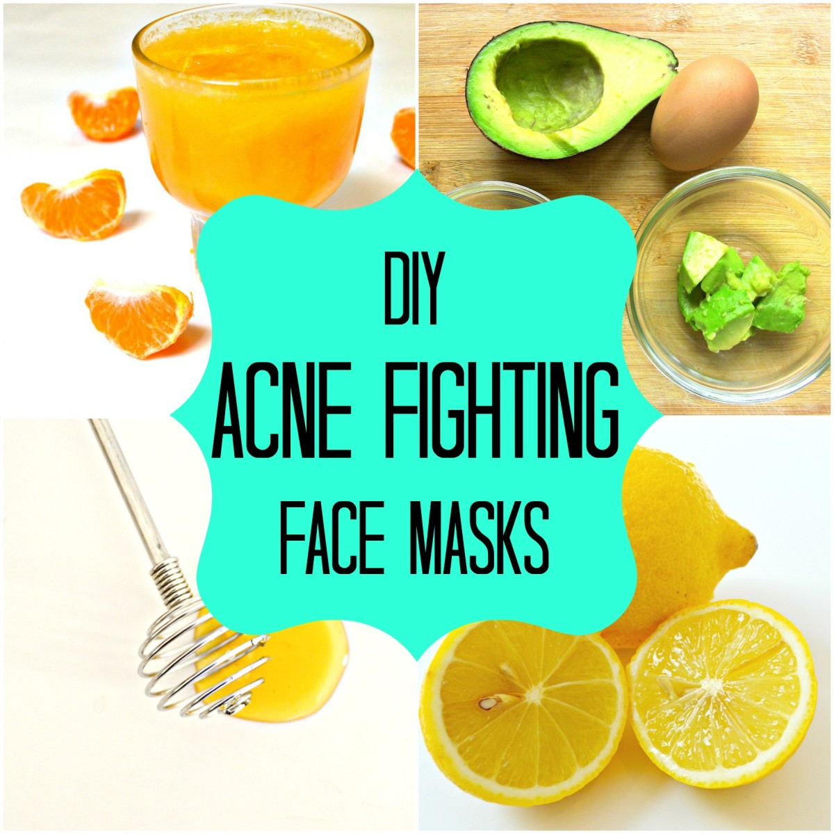 DIY Acne Face Mask  DIY Homemade Face Masks for Acne How to Stop Pimples