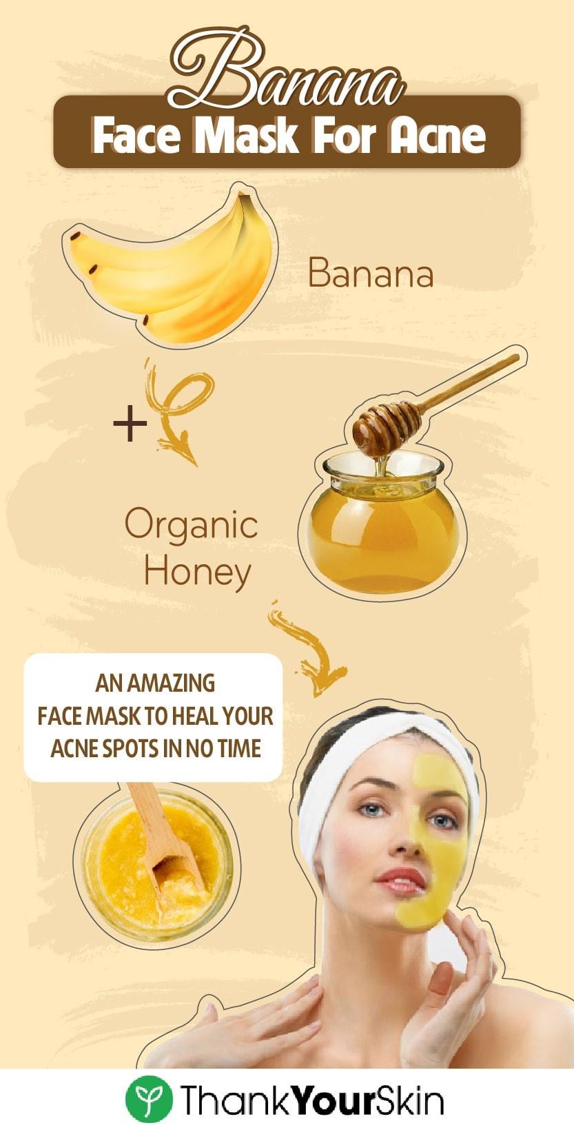 DIY Acne Face Mask  Homemade face mask acne Masks