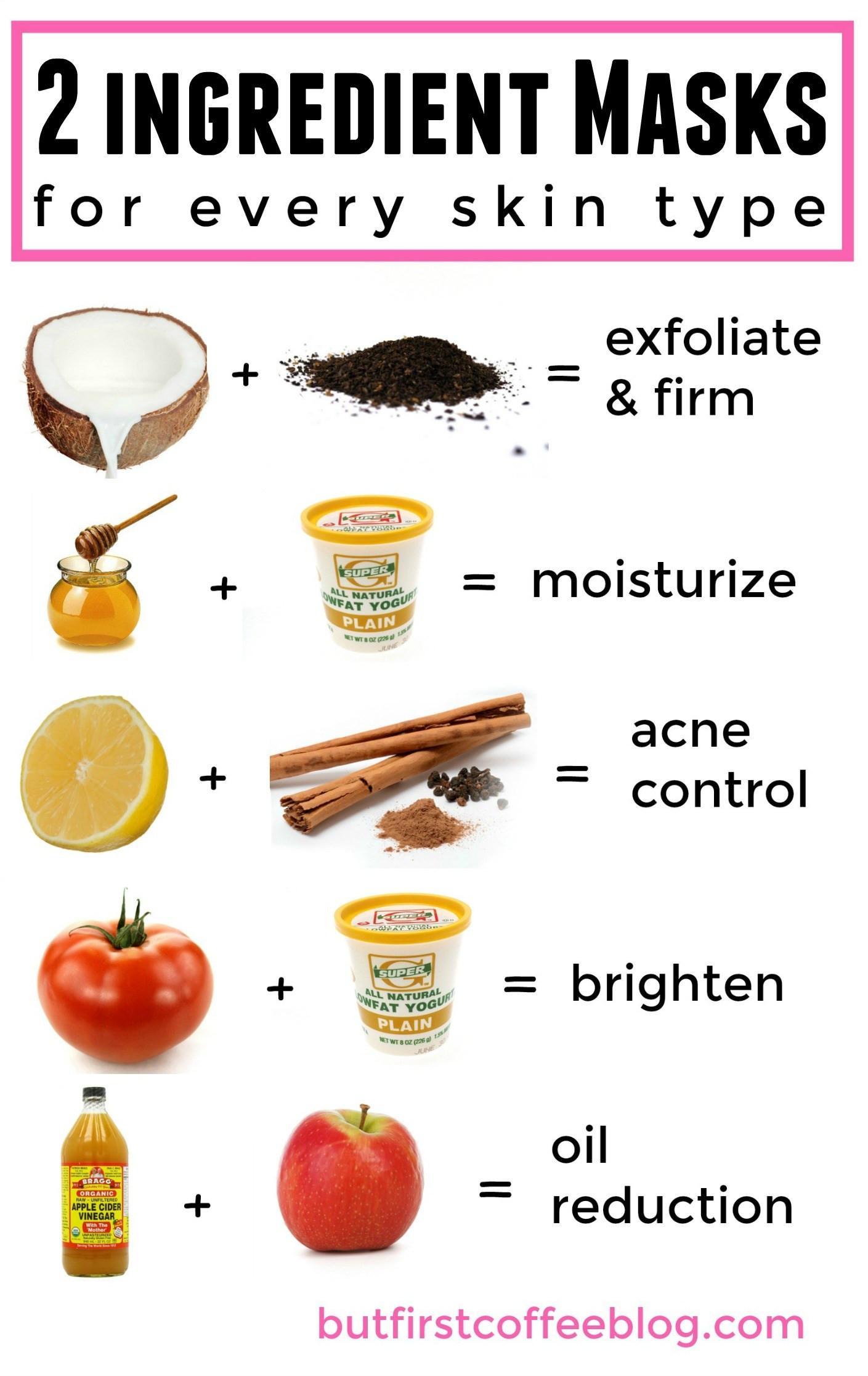 DIY Acne Face Mask  Homemade acne mask Masks