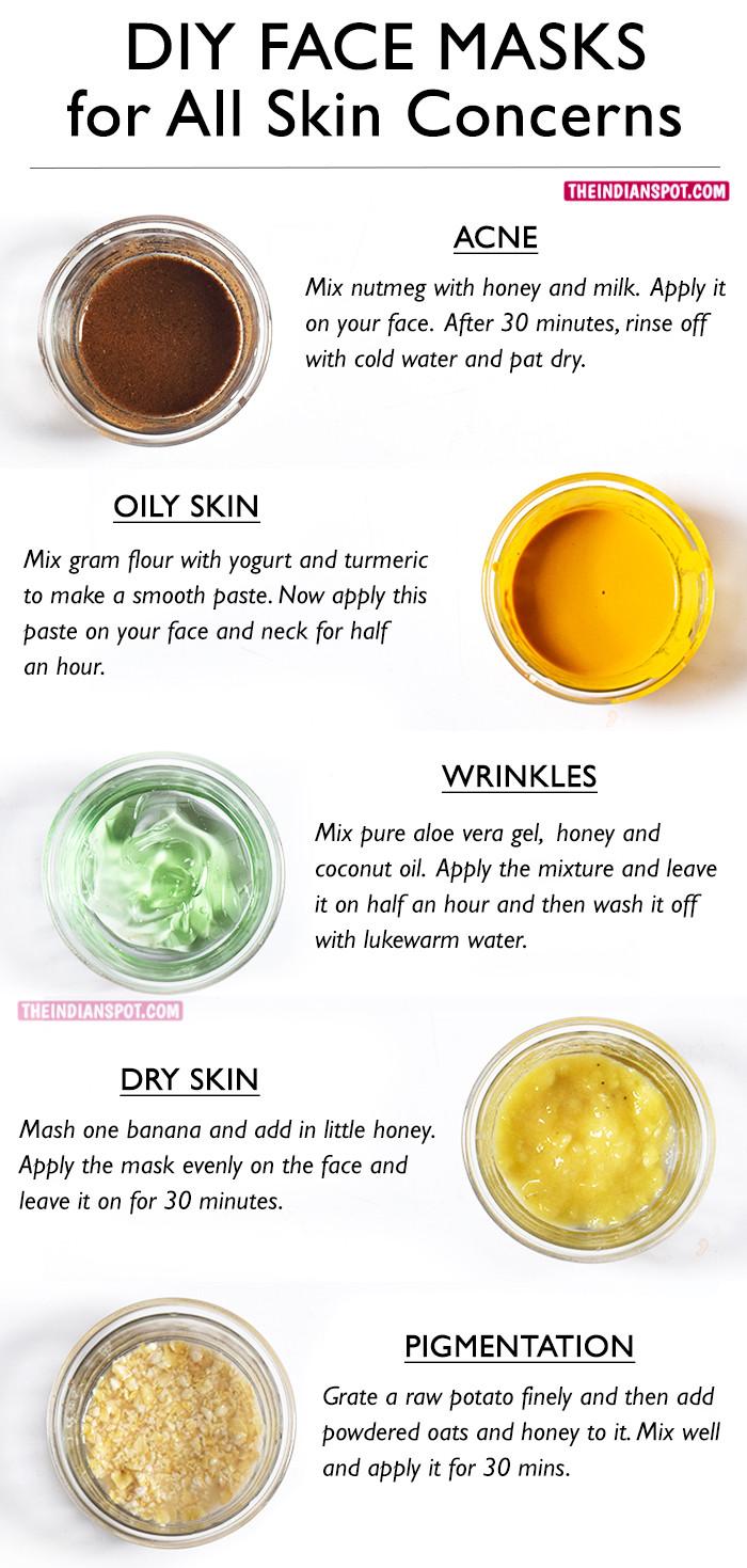 DIY Acne Face Mask  BEST DIY FACE MASKS FOR YOUR BIGGEST SKIN PROBLEMS