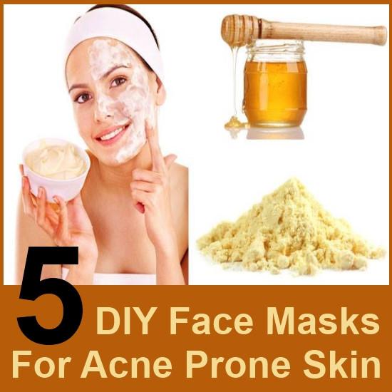 DIY Acne Face Mask  5 DIY Face Masks For Acne Prone Skin