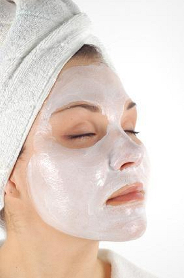 DIY Acne Face Mask  Top 10 Homemade Acne Scar Treatments Top Inspired