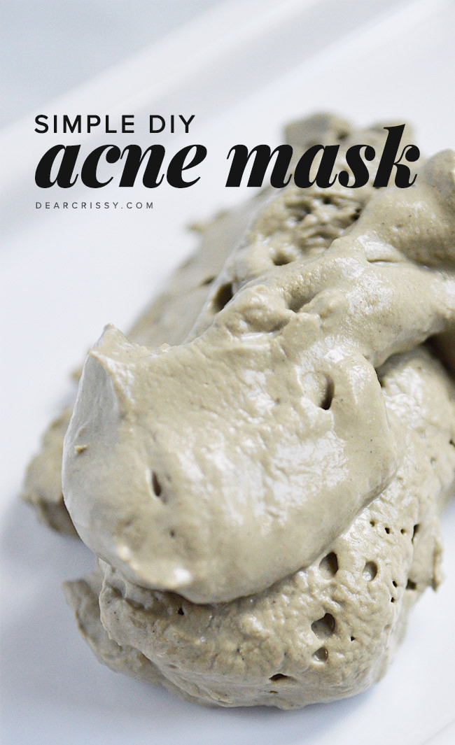 DIY Acne Face Mask  Refresh Your Face With These 20 DIY Face Masks