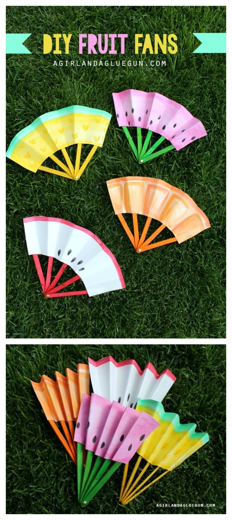 DIY Craft Ideas For Kids  12 Favorite Easy Summer Crafts for Kids on Love the Day
