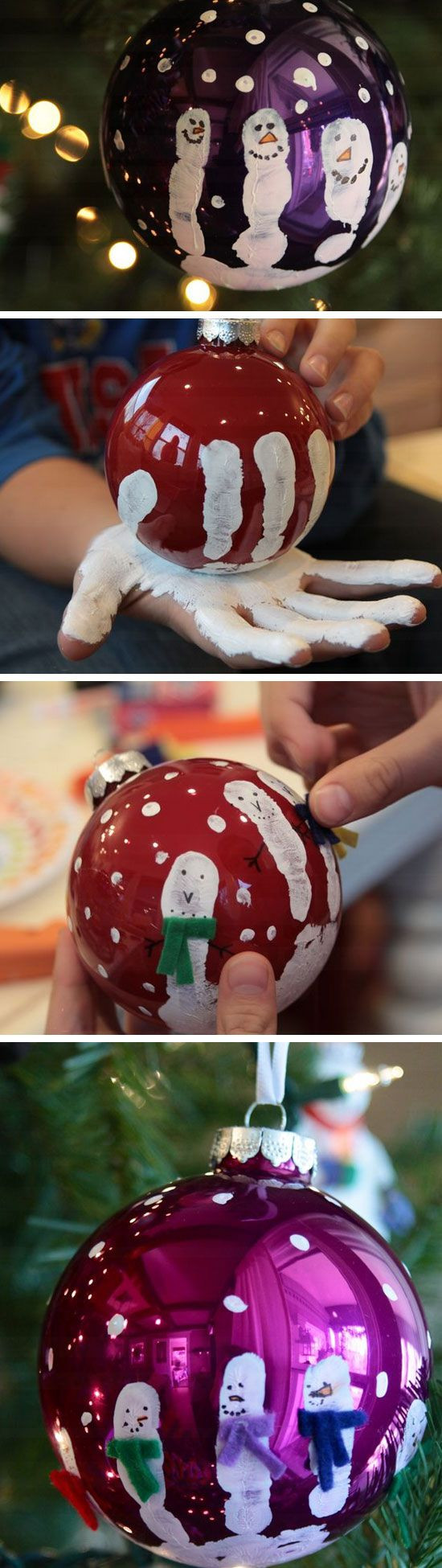DIY Craft Ideas For Kids  Easy and Cute DIY Christmas Crafts for Kids to Make Hative