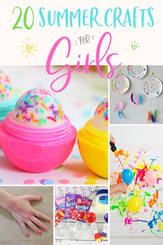 DIY Craft Ideas For Kids  20 Easy DIY Crafts for Girls Modern Glam