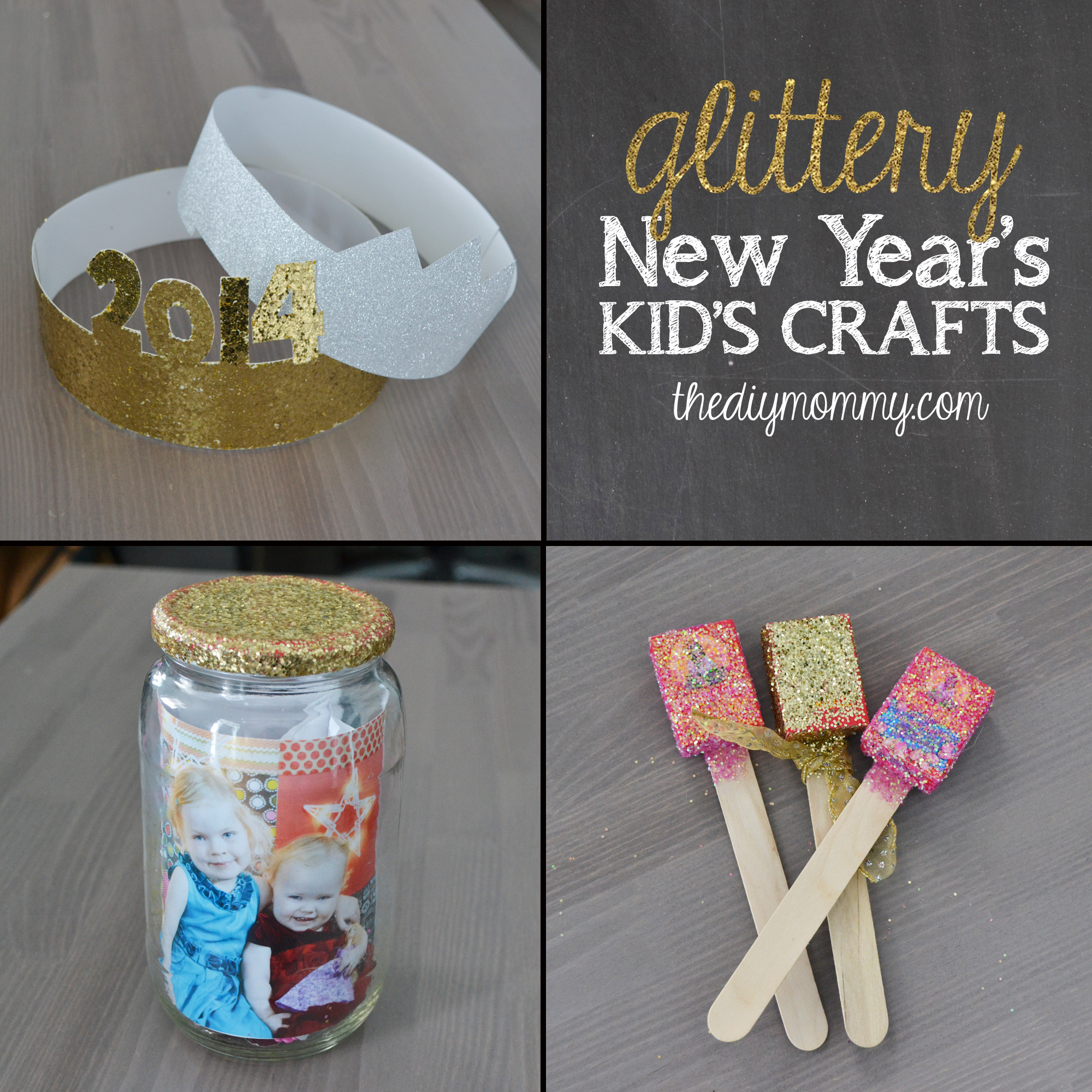 DIY Craft Ideas For Kids  Make Glittery New Year's Kid's Crafts – The News