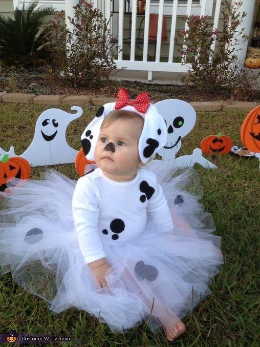 DIY Dalmatian Costume Baby  Baby Dalmatian Costume