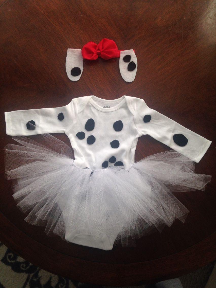 DIY Dalmatian Costume Baby  DIY Dalmatian costume for baby