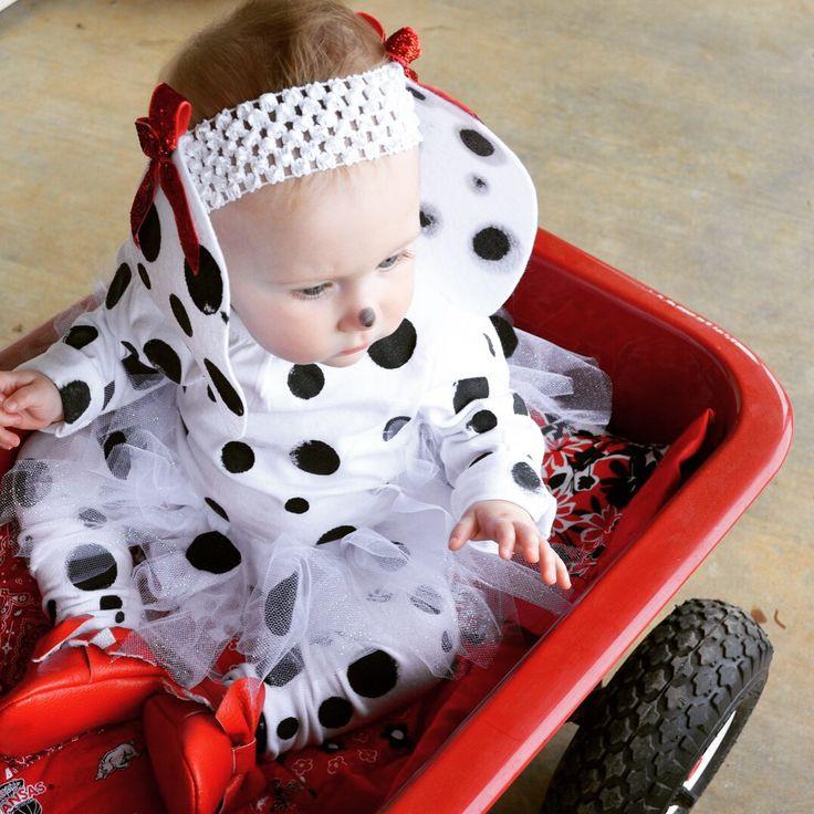 DIY Dalmatian Costume Baby  DIY Dalmatian Costume …