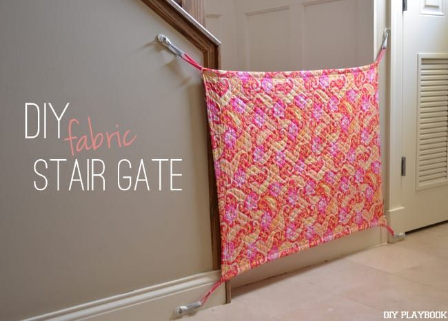 Diy Fabric Baby Gate  How to Make your Own DIY Fabric Baby Gate for your Home