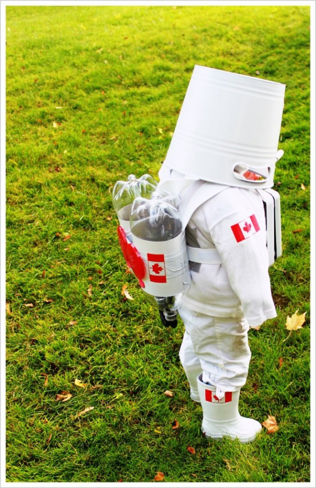 DIY Kids Astronaut Costume  33 Easy And Interesting DIY Halloween Costumes For Kids