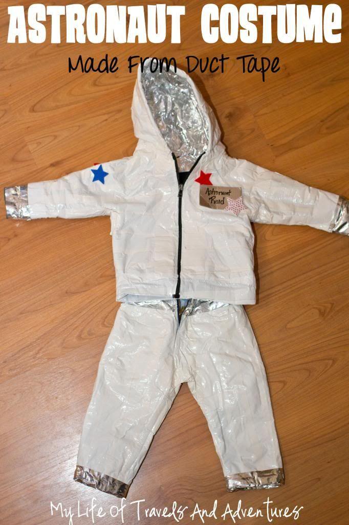DIY Kids Astronaut Costume  Homemade Astronaut Costume