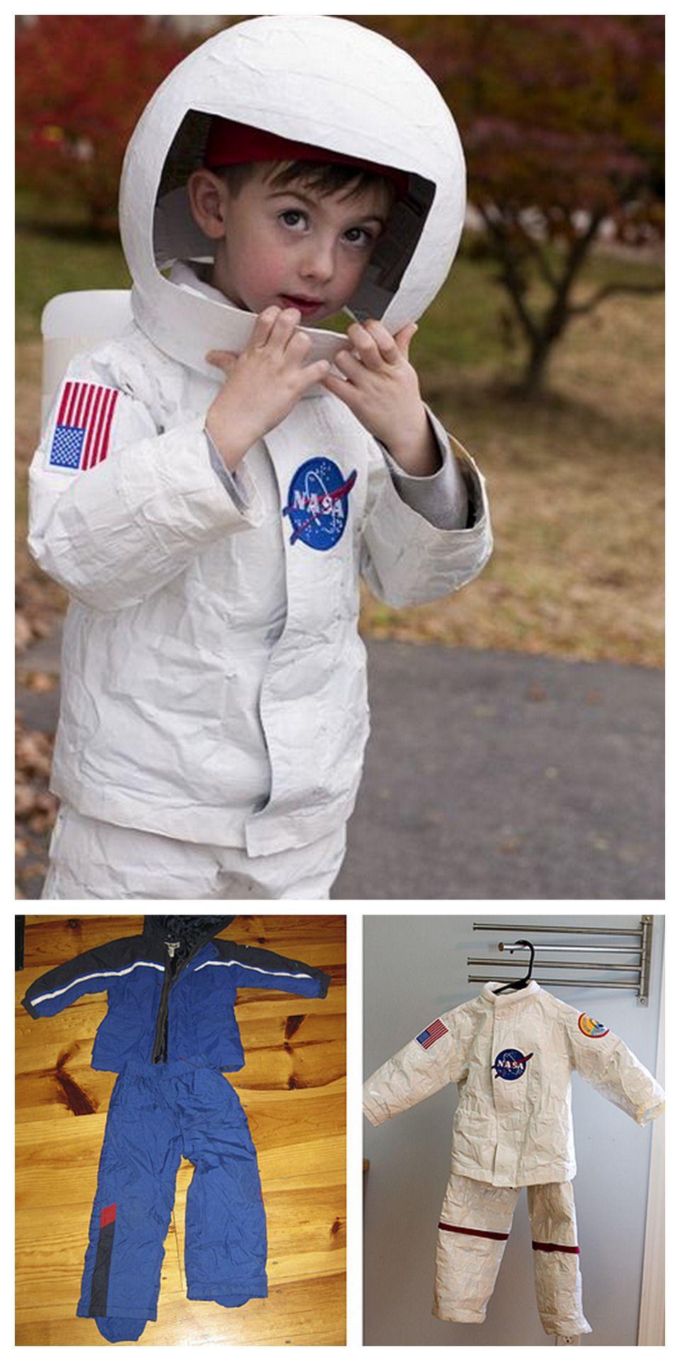 DIY Kids Astronaut Costume  DIY Astronaut Costume Tutorial from stitch craft it