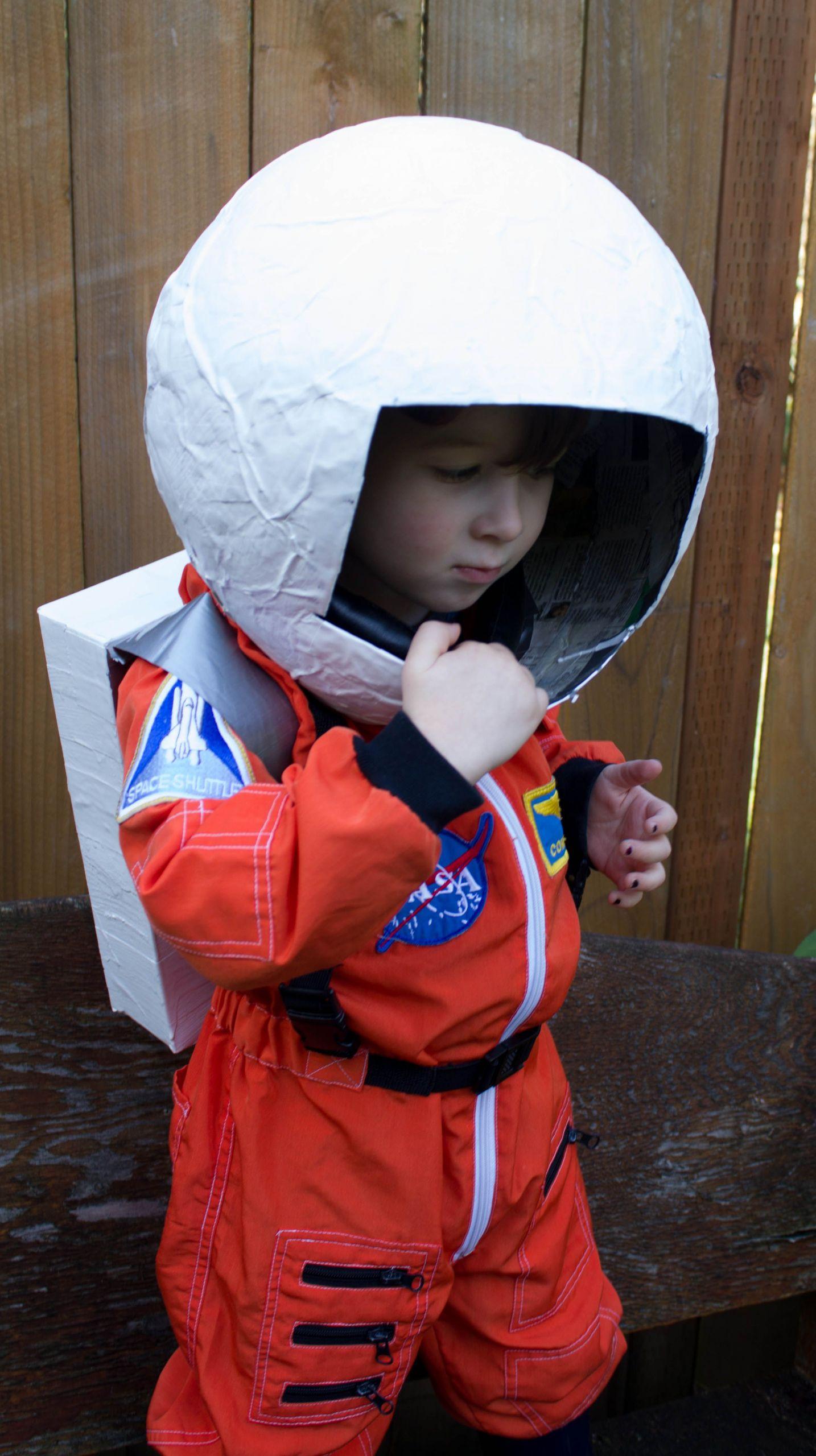 DIY Kids Astronaut Costume  DIY space helmet Google Search