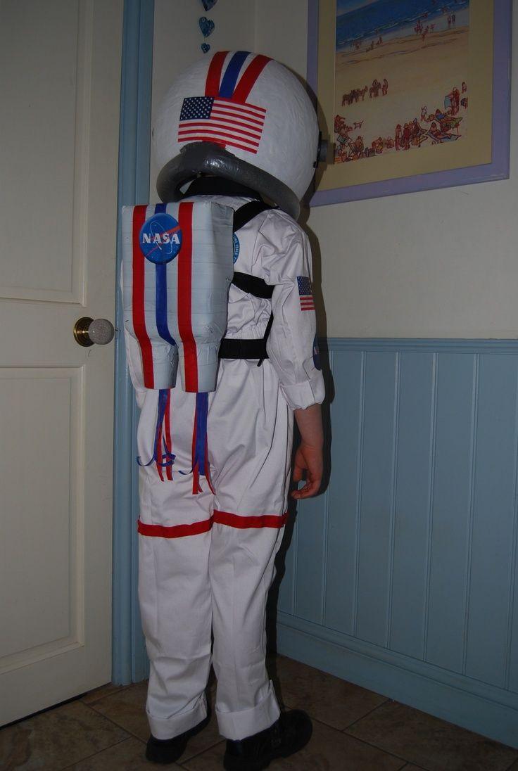 DIY Kids Astronaut Costume  astronaut costume Homemade Astronaut costume II