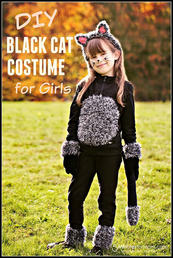 Diy Kids Cat Costume  DIY Cat Costume for Kids