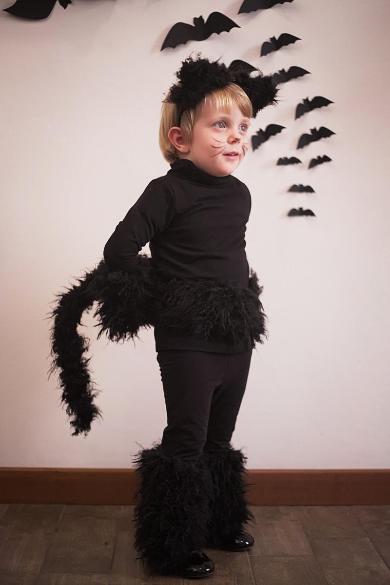 Diy Kids Cat Costume  Halloween kids costumes black cat part I Fannice Kids