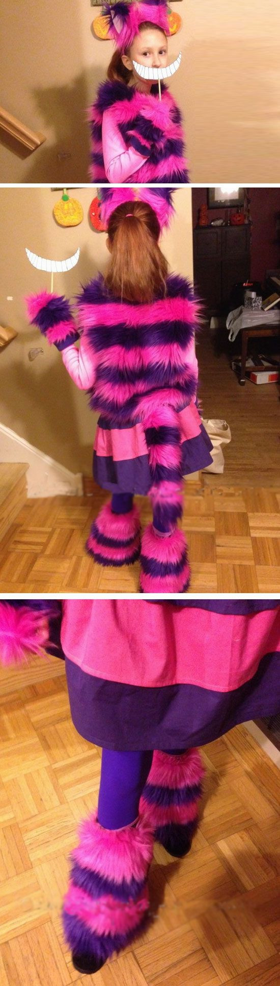 Diy Kids Cat Costume  Cheshire Cat
