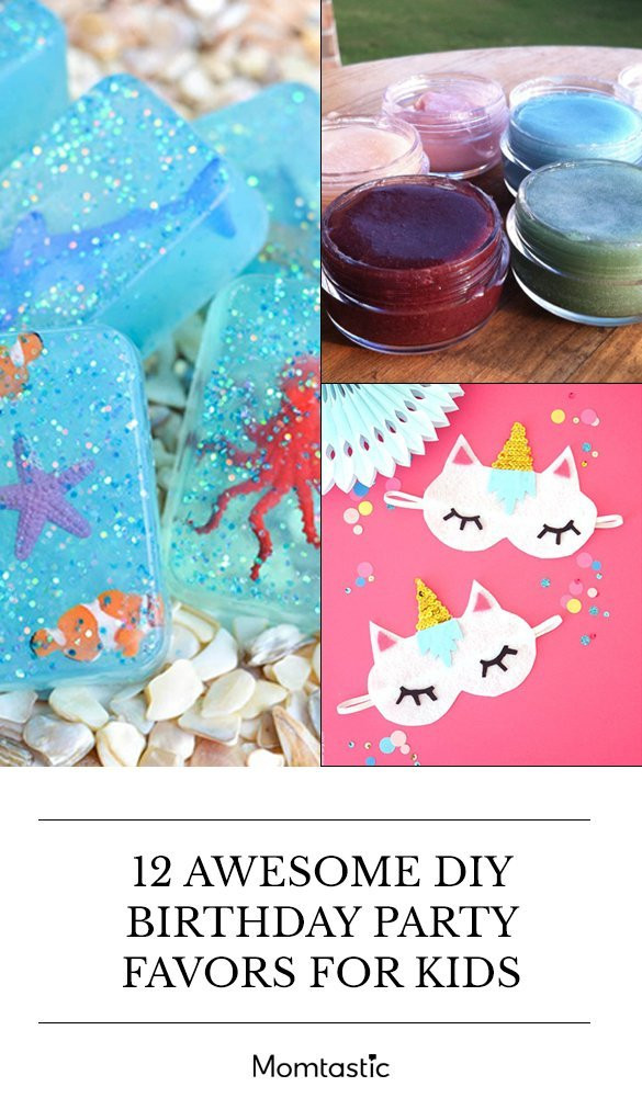 Diy Party Favours For Kids  12 Awesome DIY Birthday Party Favors For Kids