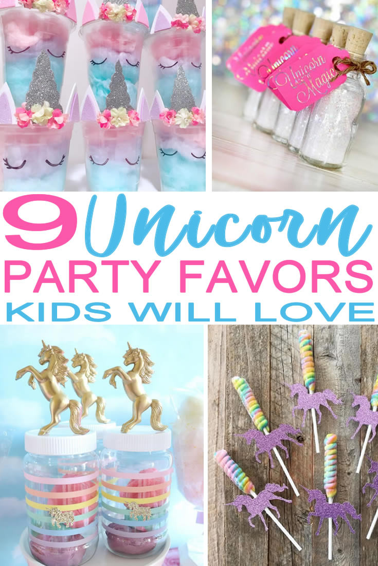 Diy Party Favours For Kids  9 Magical Unicorn Party Favors Kids Will Actually Want