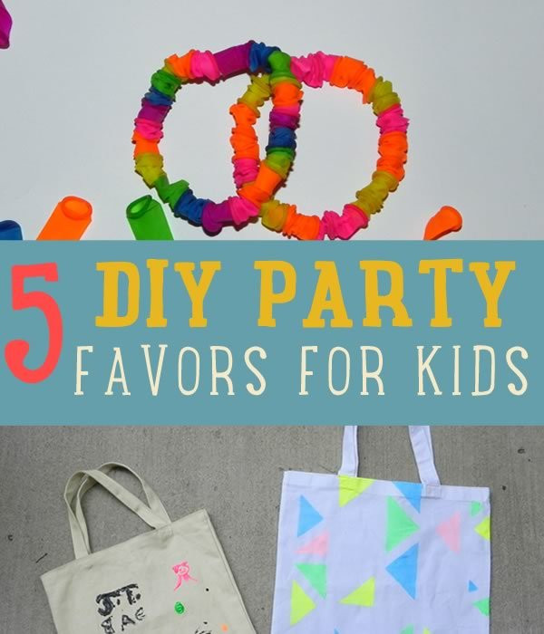 Diy Party Favours For Kids  5 DIY Party Favors and Ideas for Kids Parties DIY Ready
