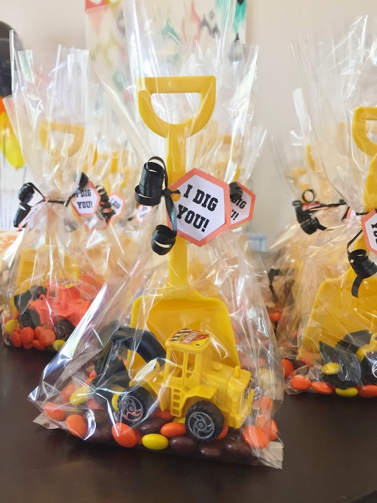 Diy Party Favours For Kids  Construction Themed Favors