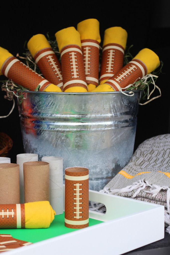 Diy Party Favours For Kids  Box Play for Kids DIY Bucket of Footballs