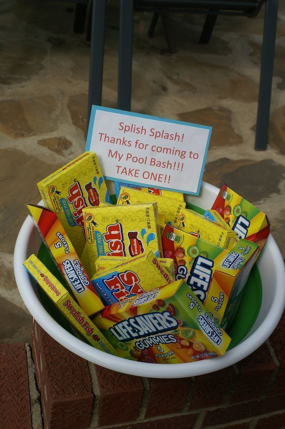 Diy Party Favours For Kids  Party Favors DIY Pool Party Ideas for Teens
