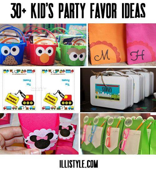 Diy Party Favours For Kids  30 Kid s Party Favor Ideas