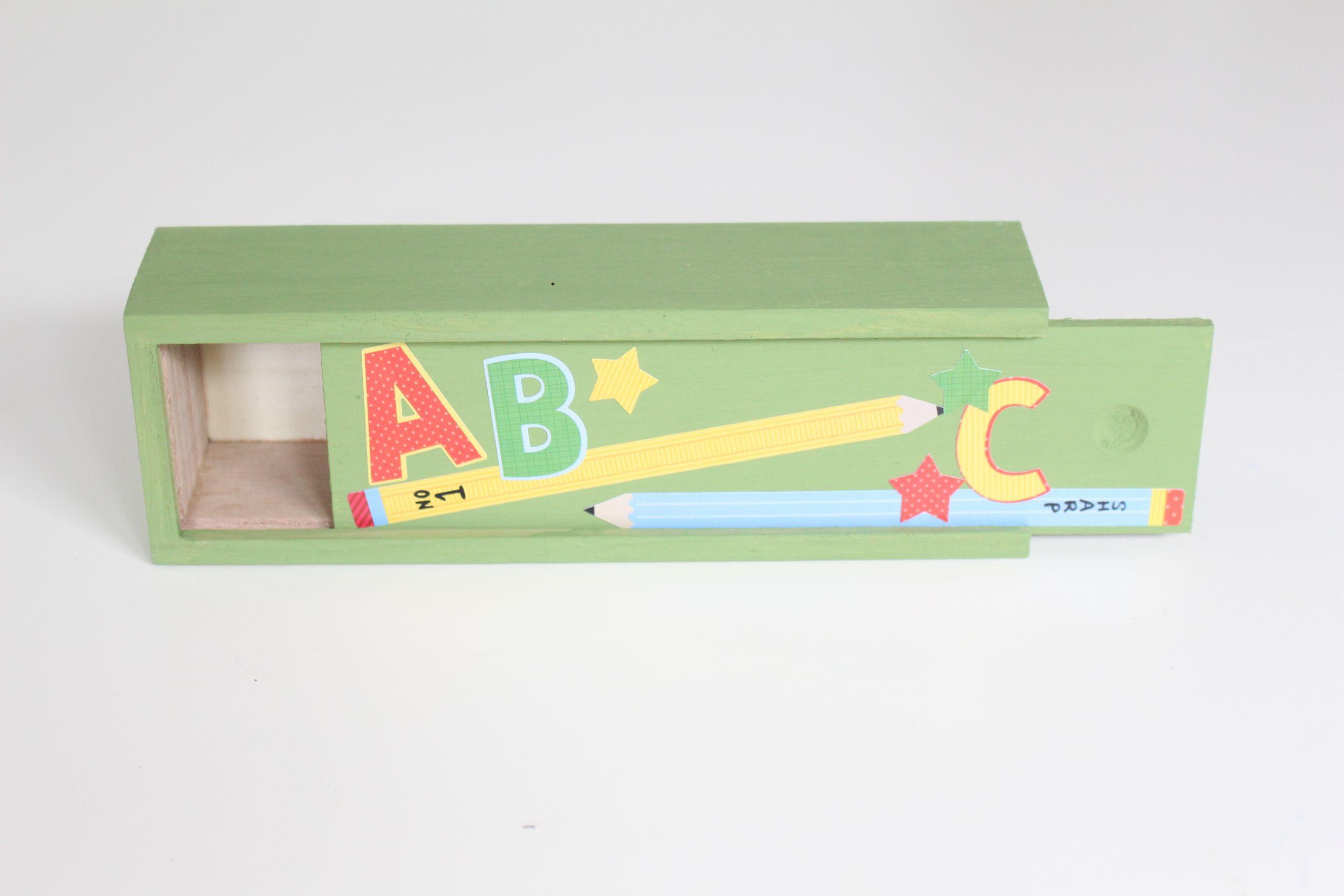 DIY Pencil Box  8 Great Back to School Organizing Ideas
