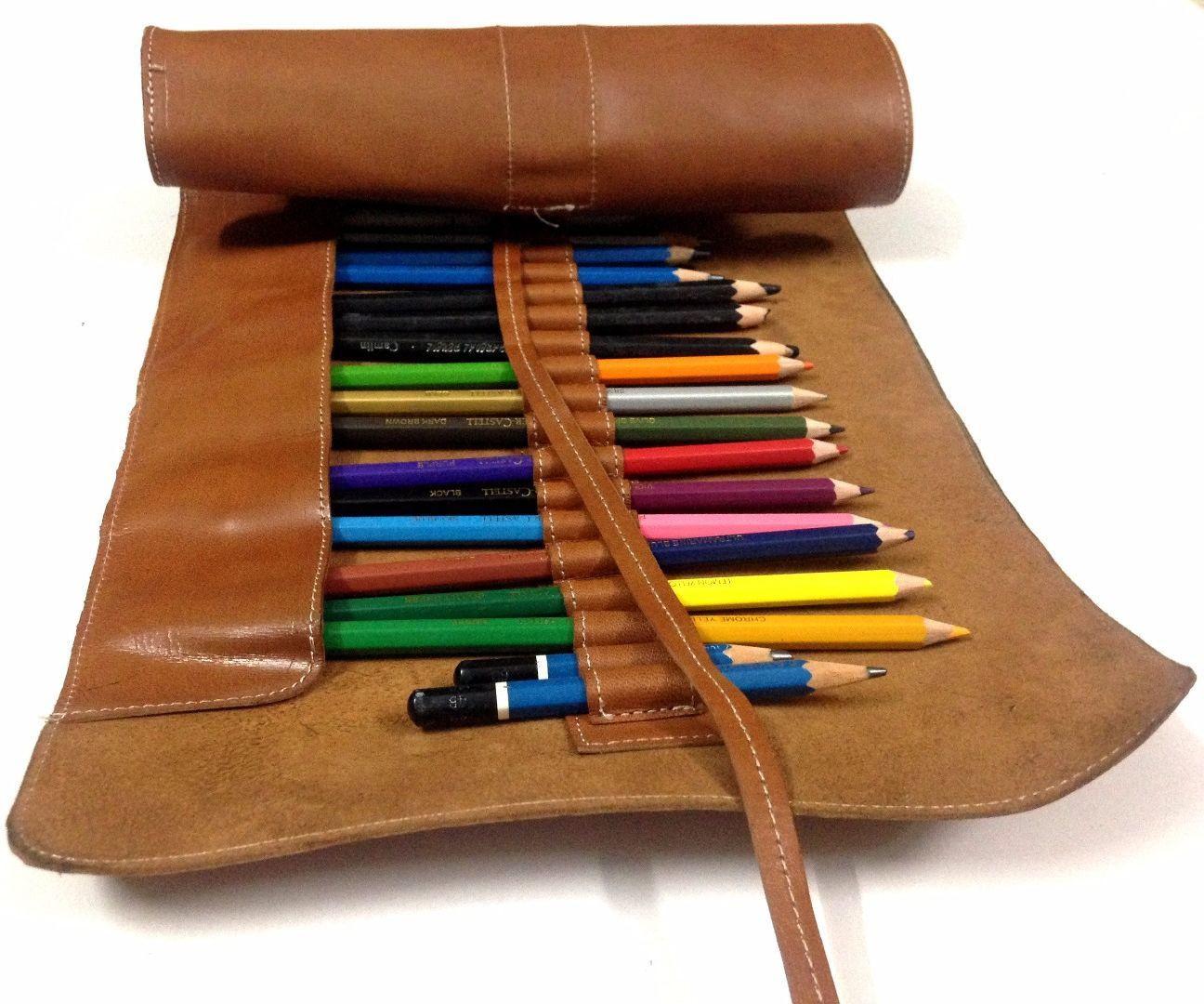 DIY Pencil Box  DIY Pencil Roll Case