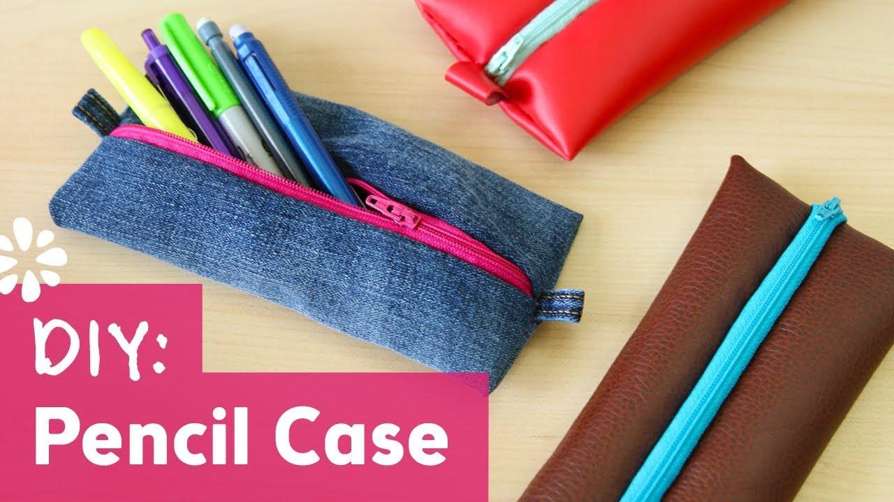 DIY Pencil Box  Back to School DIY Pencil Case Sea Lemon