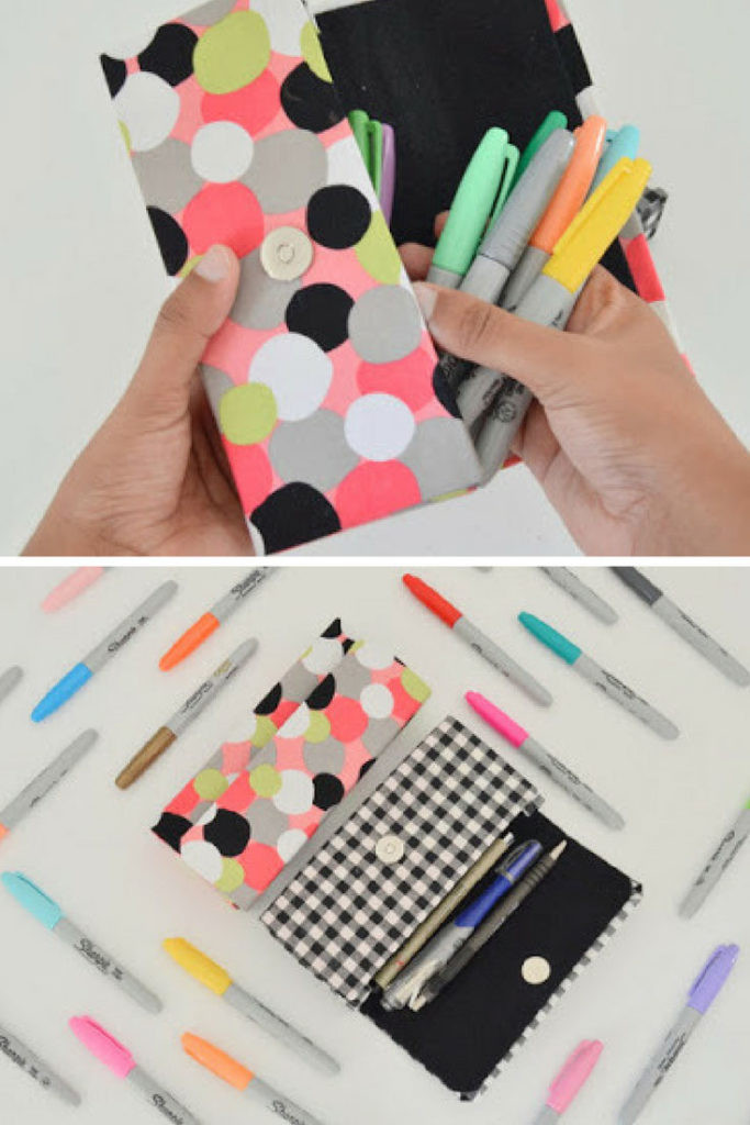 DIY Pencil Box  24 Easy DIY Back To School Supplies The Smallest Step