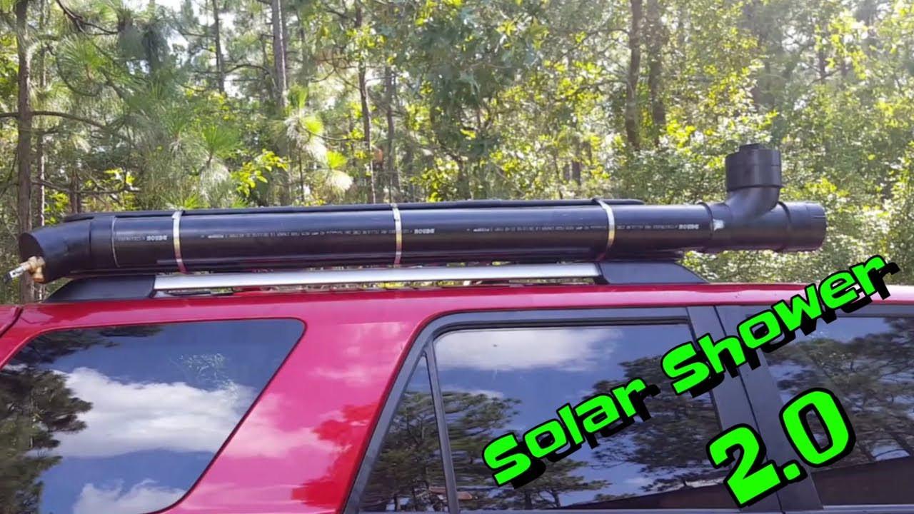 DIY Roof Rack Shower  DIY Truck Shower