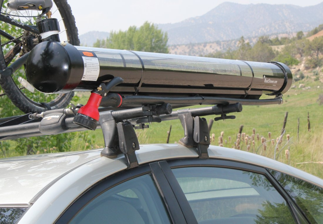 DIY Roof Rack Shower  Pvc Roof Rack & A Really Great Solar Collector The All