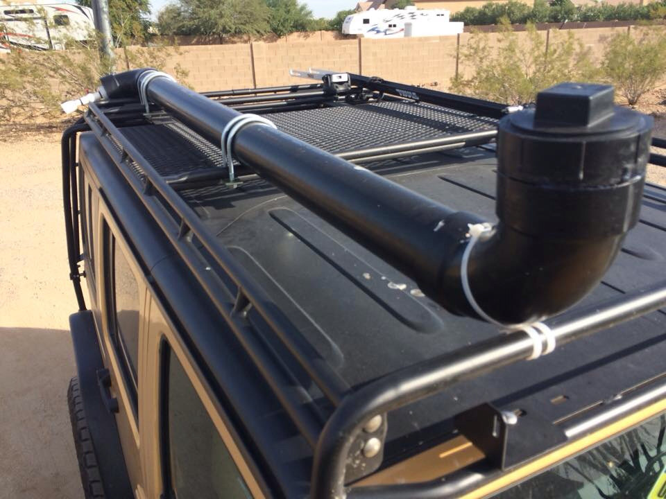 DIY Roof Rack Shower  Camping Showers guide