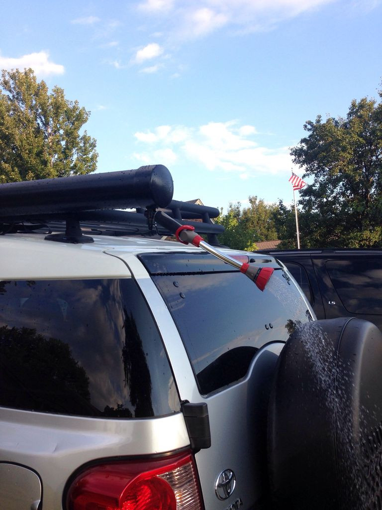 DIY Roof Rack Shower  Roof Rack Shower for Outdoor Activities 14 Steps with