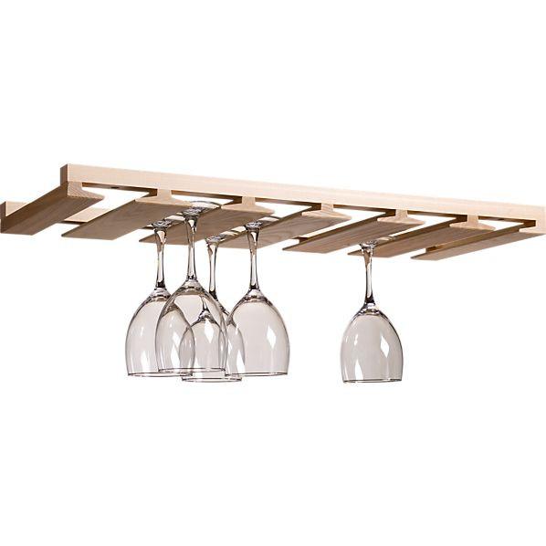 DIY Wine Glass Rack Under Cabinet  Woodwork Wine Glass Rack Under Cabinet Plans PDF Plans