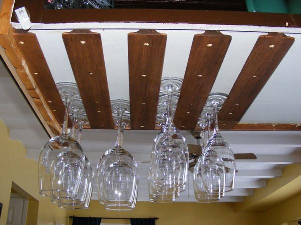 DIY Wine Glass Rack Under Cabinet  Build Wine Glass Rack Under Cabinet Plans DIY wing chun